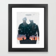 True Detective - The Long Bright Dark Framed Art Print
