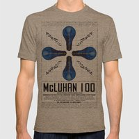 McLuhan 100  Mens Fitted Tee Tri-Coffee SMALL