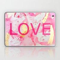 LOVE Abstract Laptop & iPad Skin