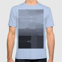 Segment Mens Fitted Tee Athletic Blue SMALL