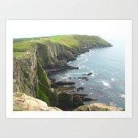 Cliffs Art Print