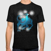 Sorazithabner Mens Fitted Tee Tri-Black SMALL