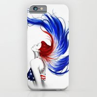 iPhone Cases featuring .Liberty by Isaiah K. Stephens