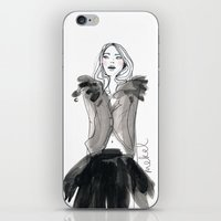 Michelle iPhone & iPod Skin