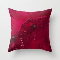 Redlicious Throw Pillow