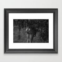 But, Framed Art Print