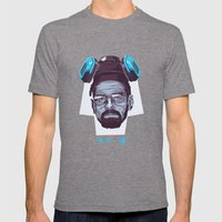BREAKING BAD Mens Fitted Tee Tri-Grey SMALL