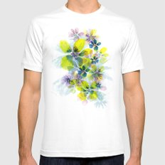 Fireworks SMALL White Mens Fitted Tee