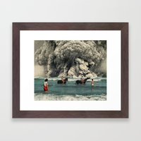 Young'un... Framed Art Print