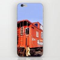 Lil Red Caboose -Wellsbo… iPhone & iPod Skin