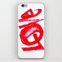 more love iPhone & iPod Skin