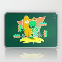Alien Surfer Nineties Pa… Laptop & iPad Skin