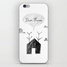 Deer Home iPhone & iPod Skin