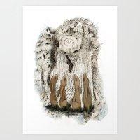 Hares Art Print