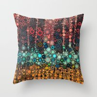 :: Michigan Morning :: Throw Pillow