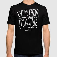 Picasso: Imagine II SMALL Mens Fitted Tee Black