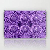 Purple Swirl Topography Laptop & iPad Skin