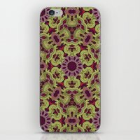 ornamental patience iPhone & iPod Skin