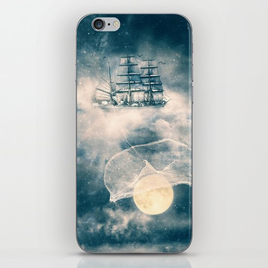 I'll bring you the MOON iPhone & iPod Skin