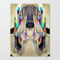 Chromatic Sanctum Canvas Print