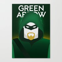 Oliver Queen Canvas Print