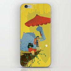 Matilda and Bouru - Melancholy iPhone & iPod Skin