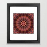 Royal Mandala Framed Art Print