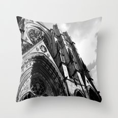 Cathedral of Saint John The Divine  Throw Pillow