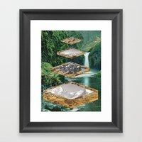 Four Landscapes Framed Art Print