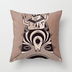 f a c t o r y  Throw Pillow