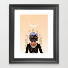 Indian Man Framed Art Print