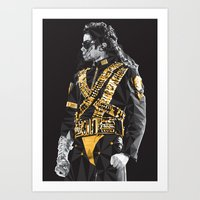 Dangerous - MJ Art Print