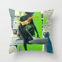 Venus (collaboration Wit… Throw Pillow