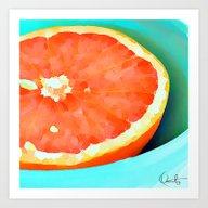 Grapefast Art Print