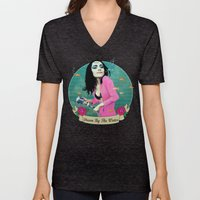 PJ Polly Jean down by the water Unisex V-Neck