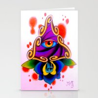 Clarity Pends On Angle O… Stationery Cards