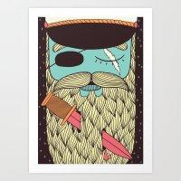 Captain Hope Art Print