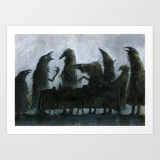 7Ravens - Table Art Print