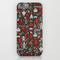 Vintage Robots Slim Case iPhone 6s