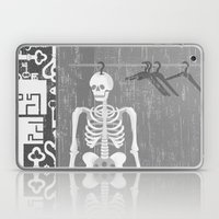 SKELETON IN THE CLOSET Laptop & iPad Skin