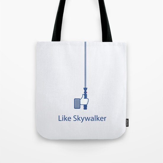 Coupling Up (accouplés) Like Skywalker Tote Bag