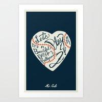 Mr. Cub Art Print
