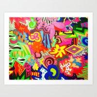 Colour Art Print