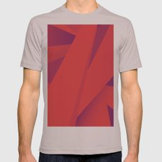 Striking Red Mens Fitted Tee Cinder SMALL