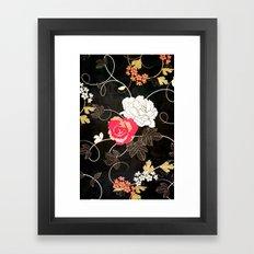 VINTAGE FLOWERS VII - for iphone Framed Art Print