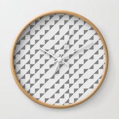 Typoptical Illusion A no.2 Wall Clock