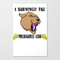 Surviving The Milwaukee … Canvas Print
