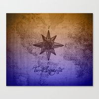 Terra Incognita Canvas Print