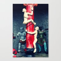 After Death (Hell) Canvas Print