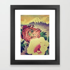 Flowering at Hamata Framed Art Print